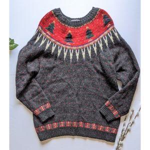 Woolrich wool Christmas sweater size XL